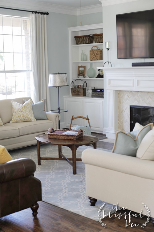 Winter in Paris by Valspar - living room paint color
