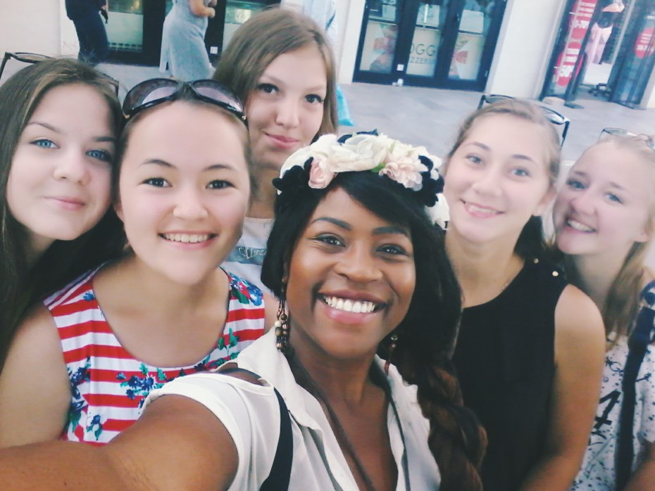 Selfie with some Russian teens! After getting some on their phone, I figured I might as well save a couple on mine.