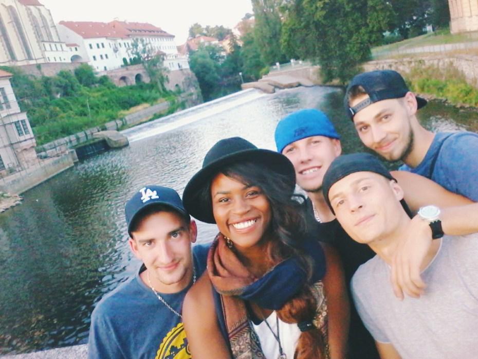 Selfies on selfies on selfies!