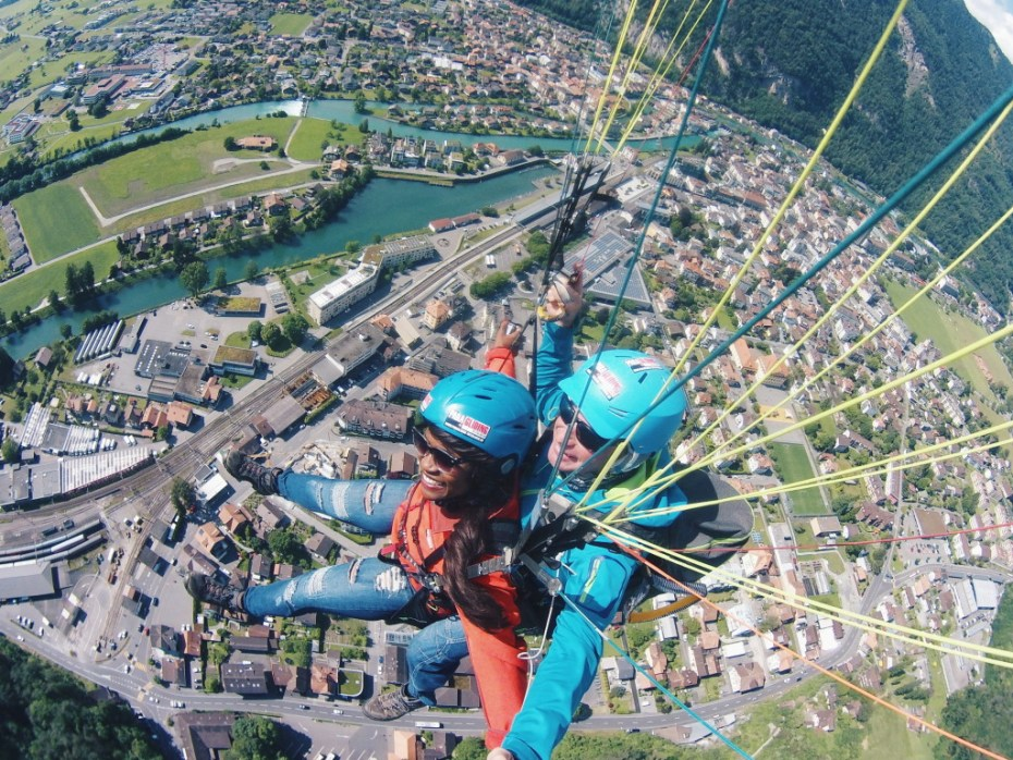 Paragliding with Outdoor Interlaken!