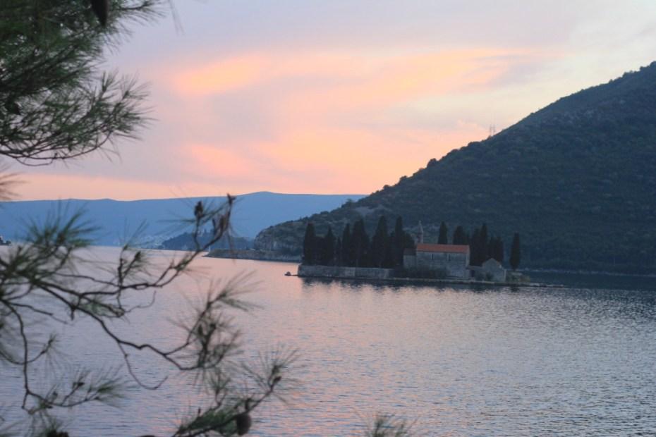 Sunset in Budva, Montenegro | TheBlogAbroad.com