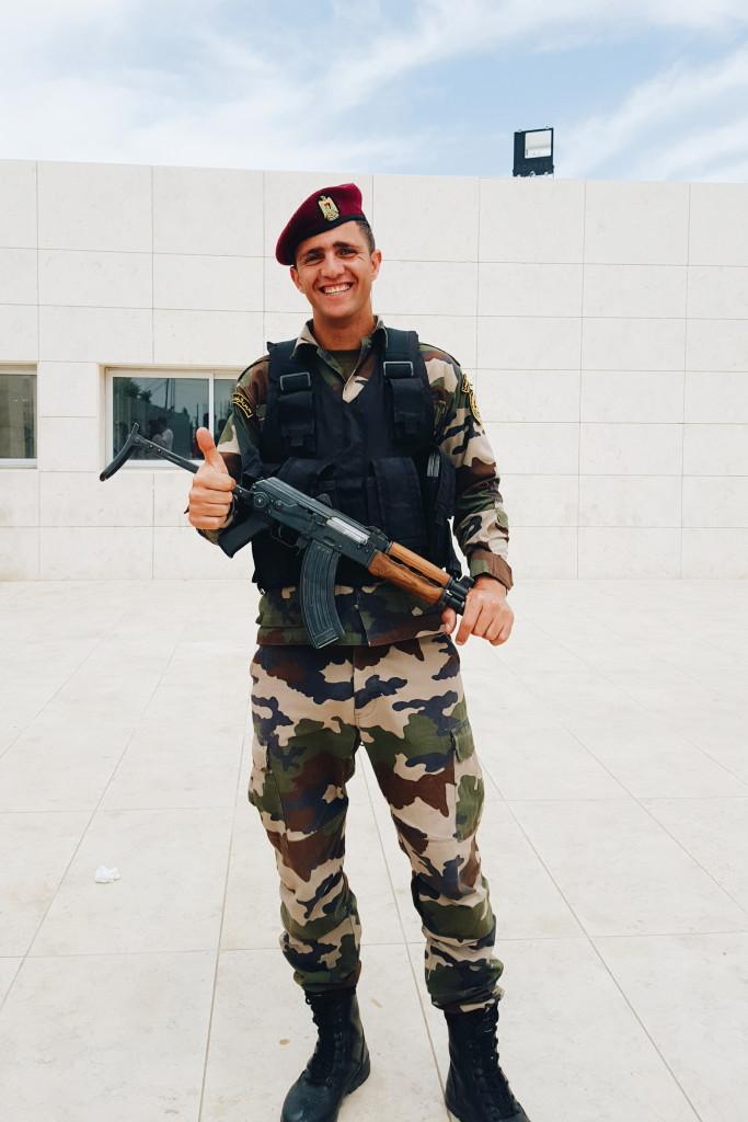 Palestinian Soldier | TheBlogAbroad.com