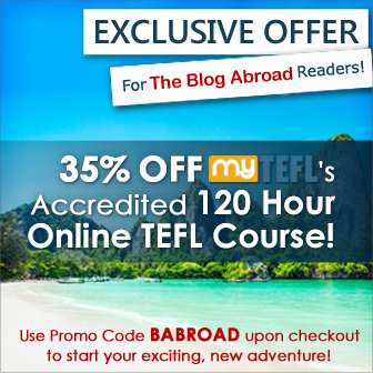 Get TEFL Certification 35% Off | TheBlogAbroad.com