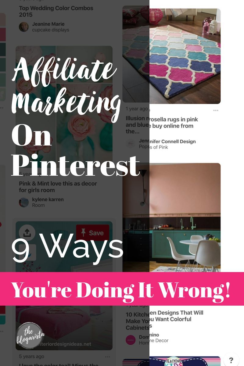 Make Money Blogging: Learn the most common affiliate marketing mistakes on Pinterest. Find out how you can improve your income by changing the way you add affiliate links to Pinterest. Could you increase your monthly affiliate sales by correcting these mistakes? Online Business | Blogging For Beginners | How To Make Money
