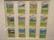 """Aviation related cards to play """"Quartett"""", a game originated in Germany to play in family."""