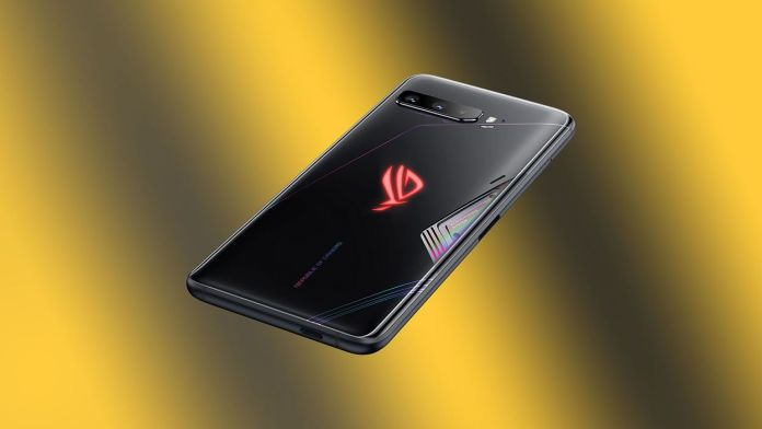 Asus ROG Phone 3 with 865+ Snapdragon Processor
