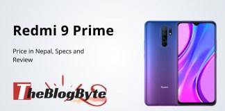 Redmi Note 9 Prime