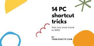 PC shortcut tricks