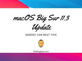 macOS Big Sur 11.3 Update