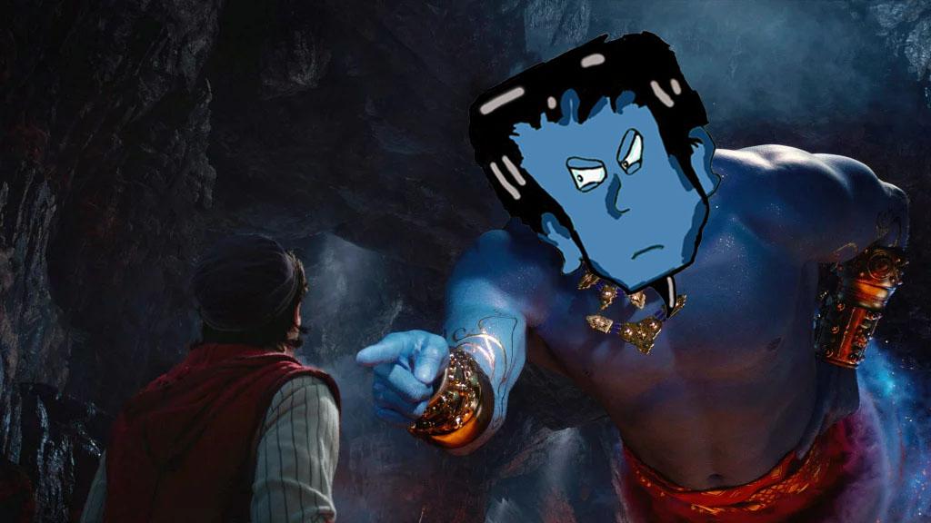 Aladdin a very rotten flick!