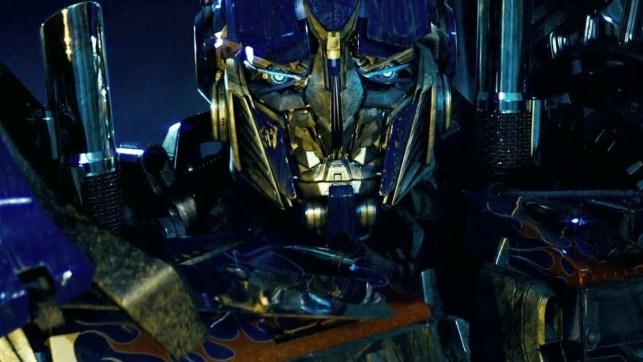 It's Optimus Prime