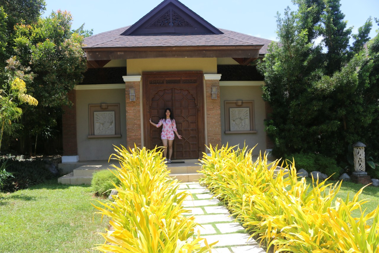 the indonesian villa at Tirta Spa Boracay