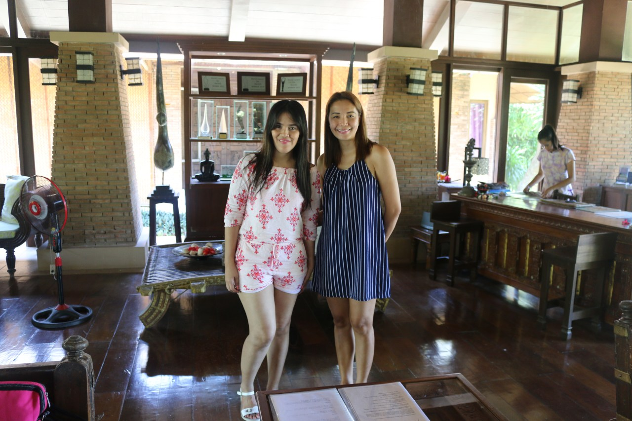 with ms Cecille Acuna of Tirta Spa Boracay
