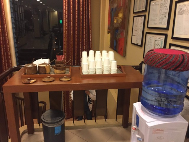 unlimited coffee at Microtel hotel Baguio