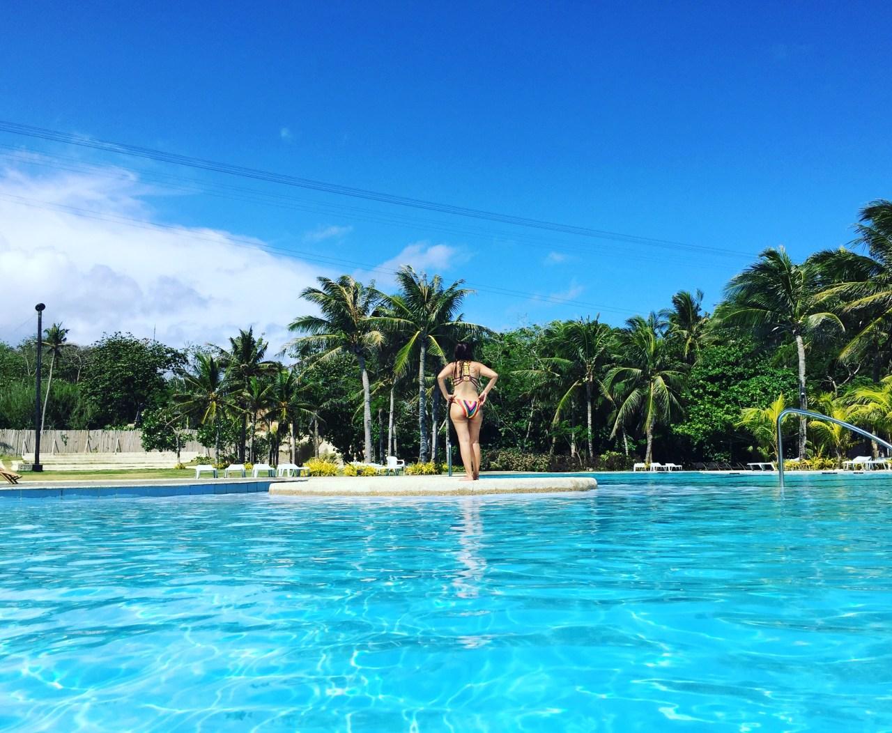 the Atlantis pool at Fairways & Bluewater Boracay