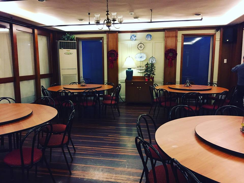 function rooms at Comida China de Manila