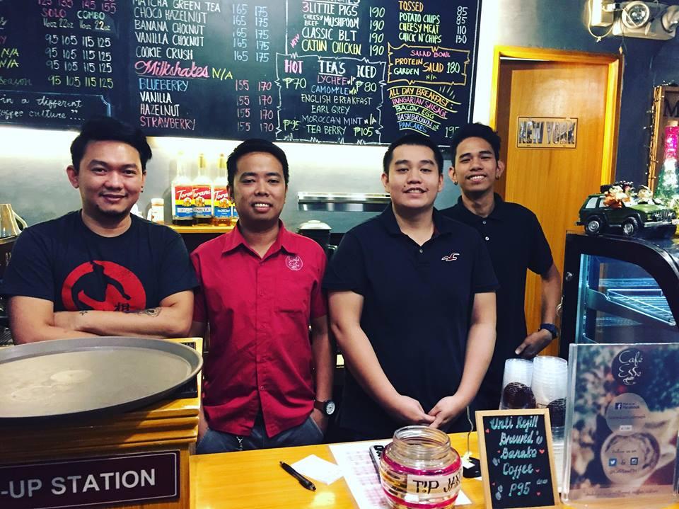 staff at Cafe Esse