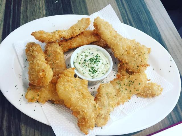 Fish Fingers. at Burp Restaurant