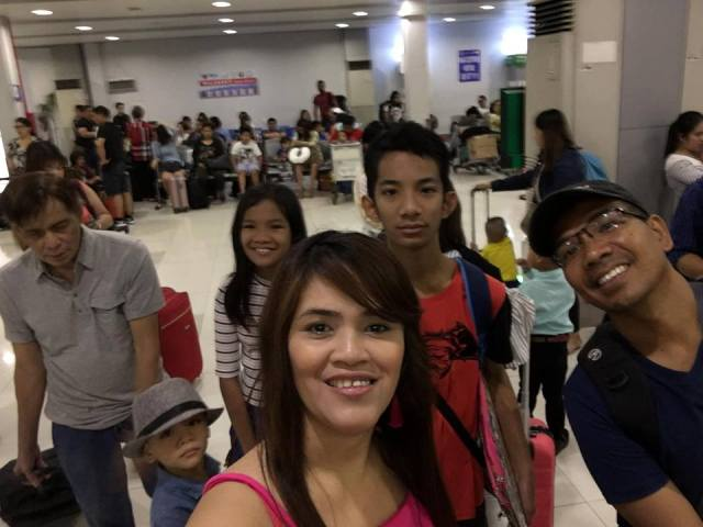 at the airport four our Boracay 2019 Day 1 vacation