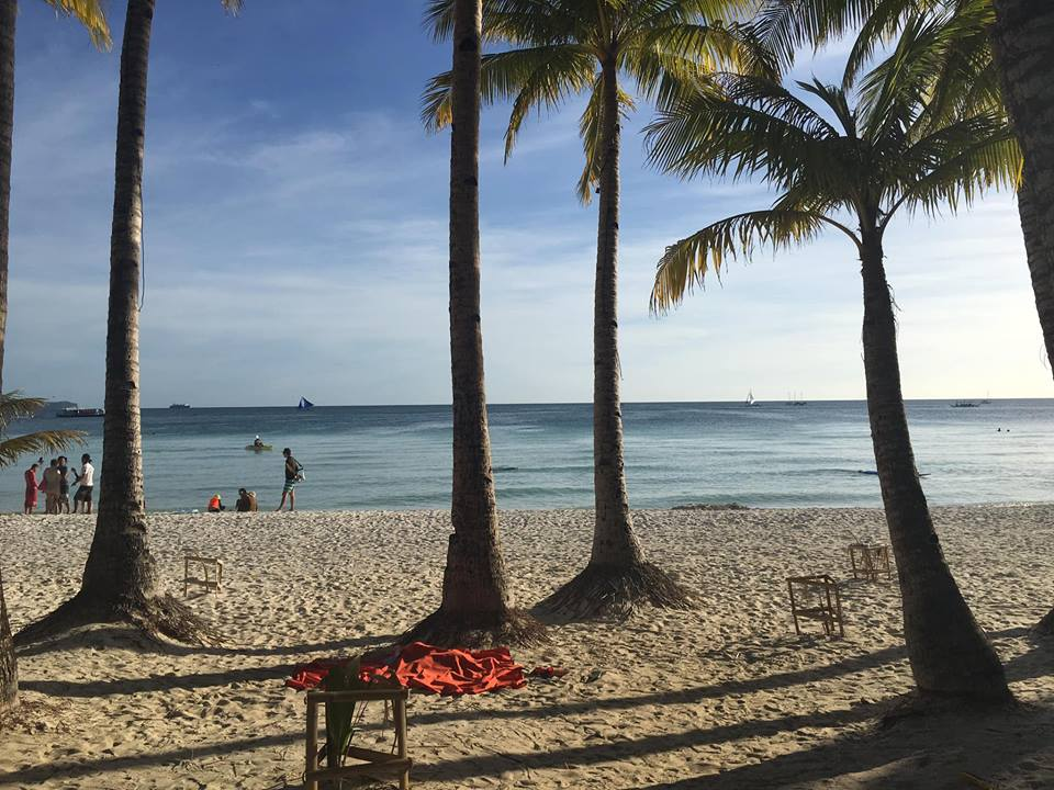 beach in the afternoon during our Boracay 2019 Day 1 vacation