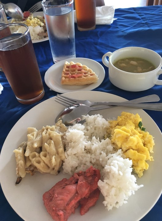 breakfast day 1 at Alta Vista de Boracay in our Boracay 2019 vacation
