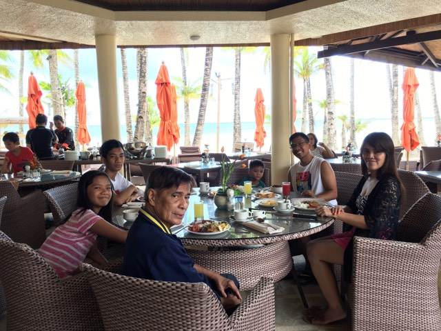 breakfast at Al Fresco Restaurant at Ambassador In Paradise during our Boracay 2019 Day 2 vacation