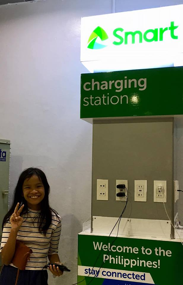 charging station at NAIA Terminal 2, getting ready for our Boracay 2019 Day 1 vacation