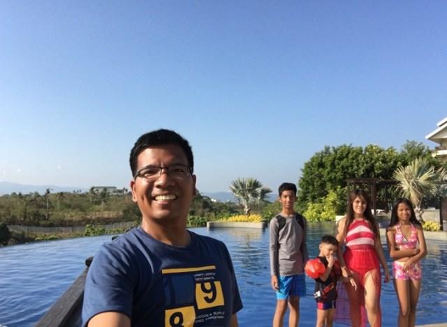 family pic at Alta Vista de Boracay