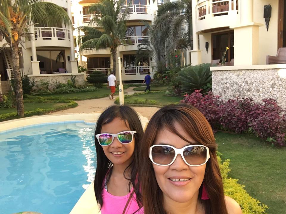 Taken at the Ambassador in Paradise poolside during our Boracay 2019 Day 1 vacation
