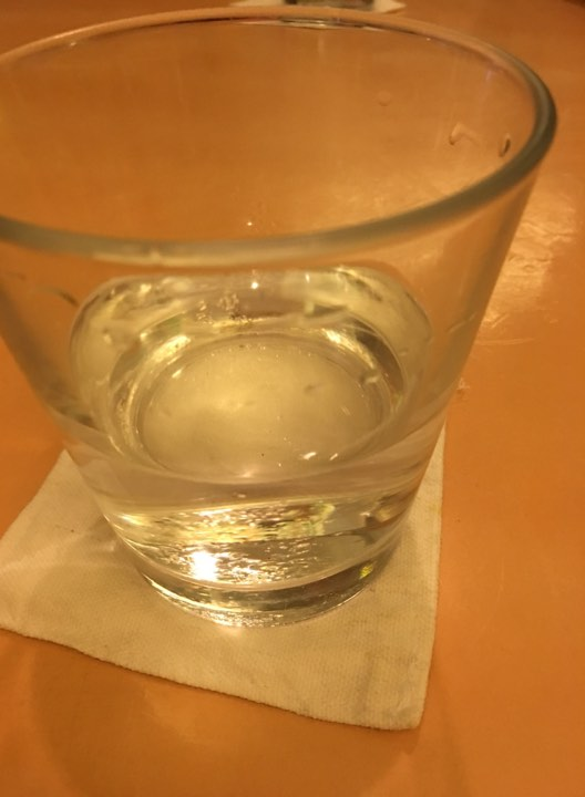 water with lemon.at Lemoni Cafe Boracay