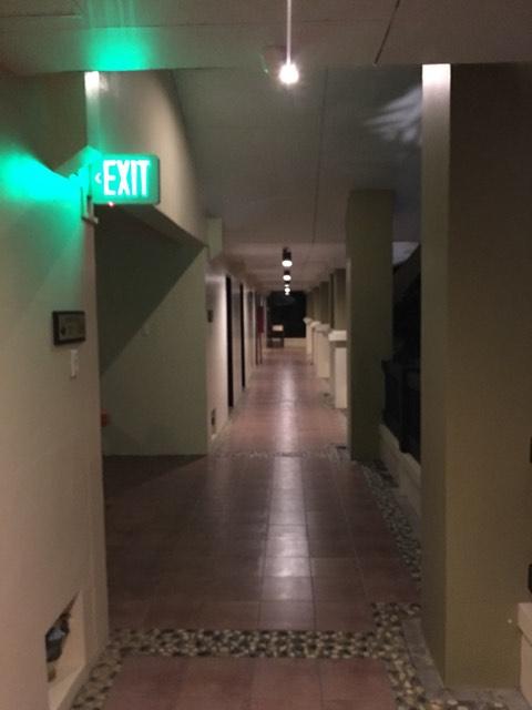 the corridor at the Alta Vista de Boracay