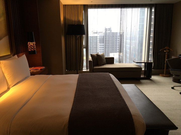 continental club de luxe room at Marco Polo Ortigas