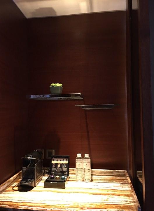 nespresso machine in our Continental Club Room at Marco Polo Ortigas
