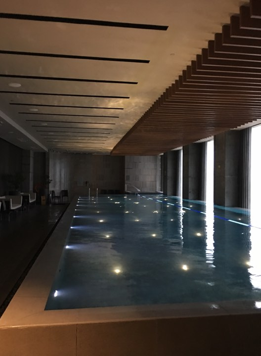 The indoor pool at Marco Polo Ortigas