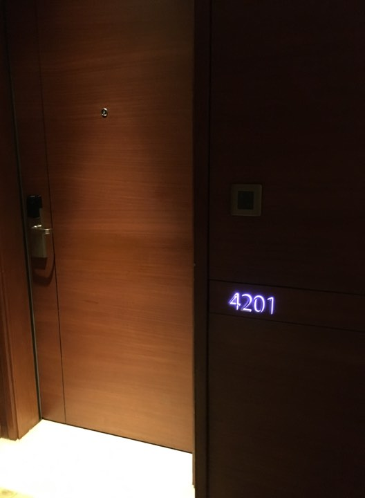Our room at the Continental Club at Marco mPolo Ortigas