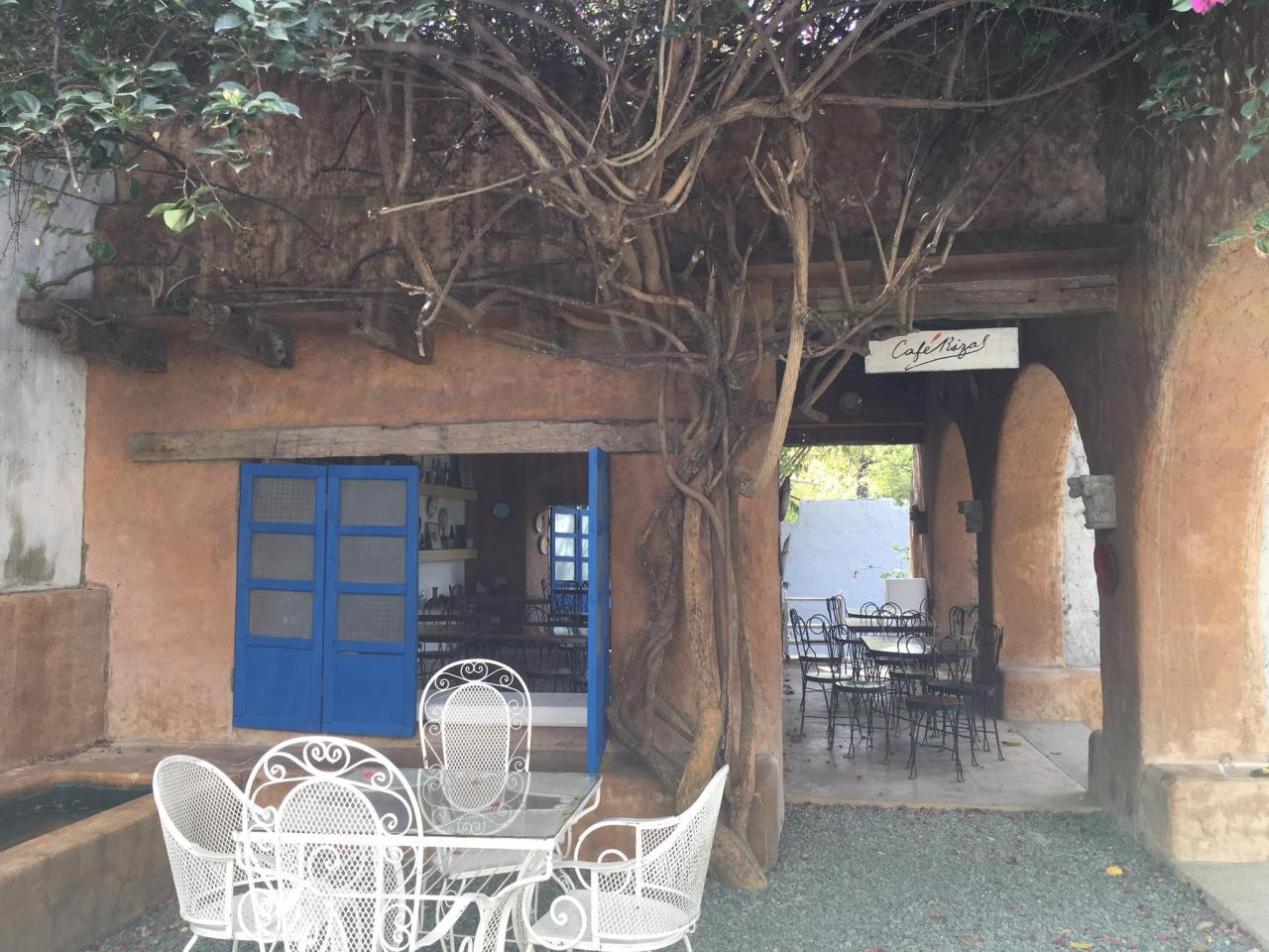 Rizal Cafe at the Pinto Art Museum, one of the tourist spots in Antipolo City