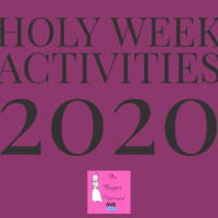 Holy Week Activities 2020
