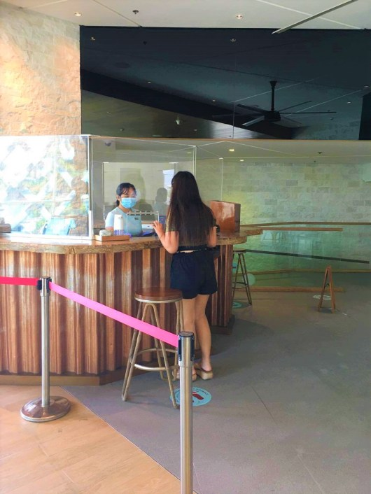 Check in at Crimson Boracay