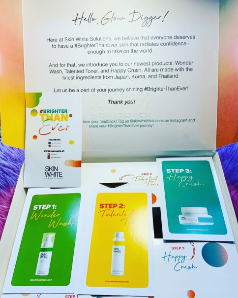 Skin White Solutions Glow Diggers Kit