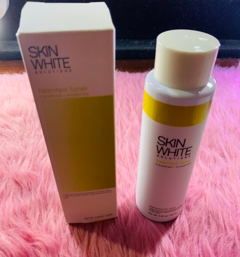 Skin White Solutions Talented Toner