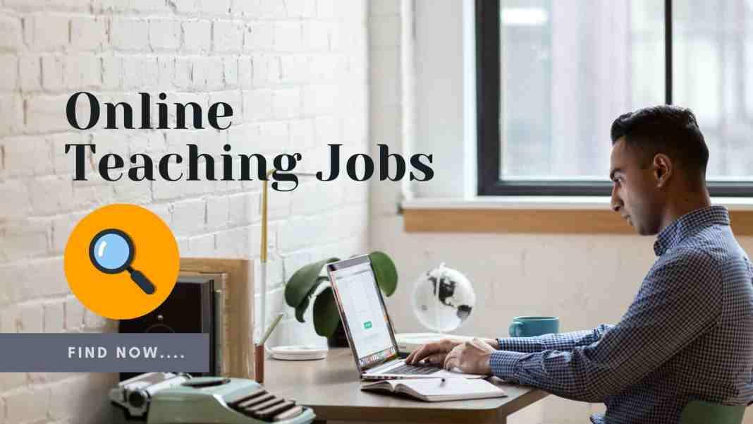 online teaching jobs - Online tutoring jobs