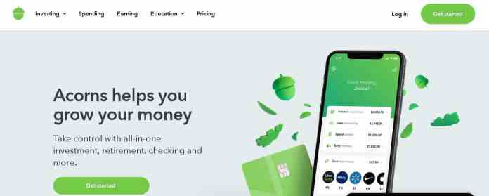 acorns Best money making apps