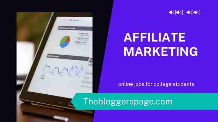 affiliate marketing online jobs without investment