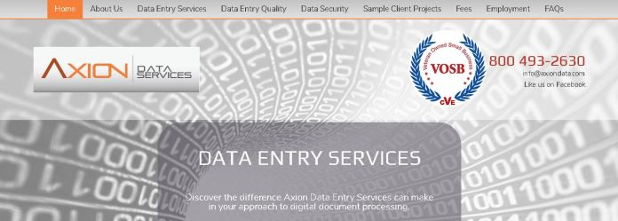axion online data entry work from home