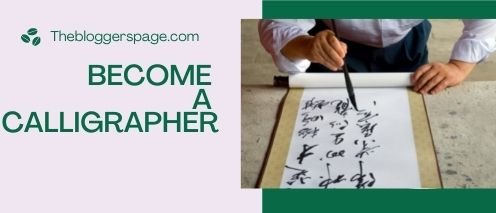become a calligrapher earn money fast