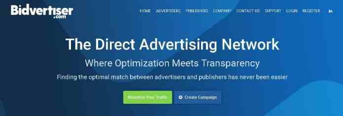 bidvertiser Best google Adsense Alternatives
