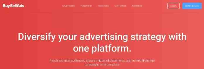 buy sell ads Best google Adsense Alternatives