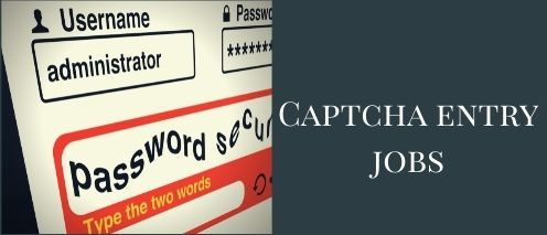 captcha entry online typing jobs from home