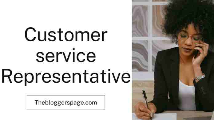 customer service representative online part time jobs for college students