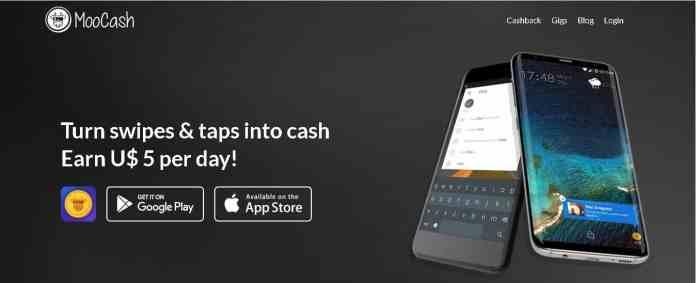 moo cash Best money making apps